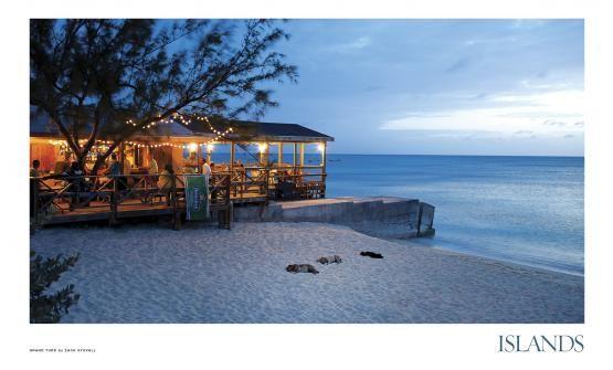 Grand Turk island, Turks and Caicos (the most stress-free island)