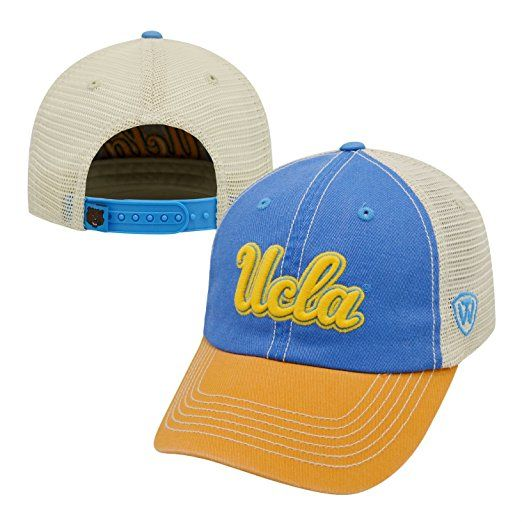 X-Large NCAA Zephyr Ucla Bruins Mens Stitch Hat Team Color