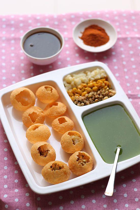 Pani Puri Recipe, How to make Mumbai Pani Puri | Mumbai Street Food
