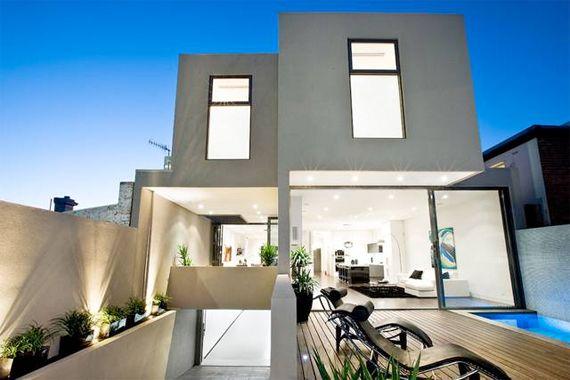 modern stucco house google search