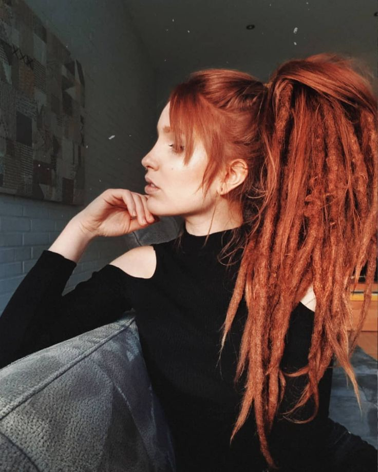 Dreaded girl  dreadstyle dreadgirl girlswithdreads dreadhead hairstyle