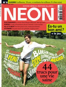 Magazine NEON n°8 - juin/juillet 2013