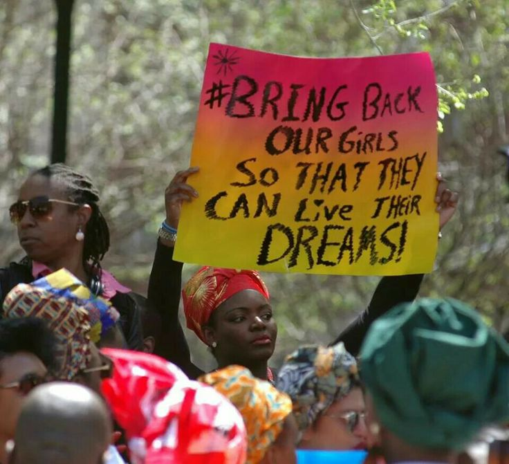 Bring back our girls so that they can live their dreams!