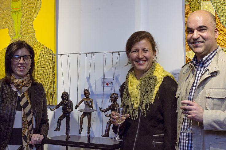 Happy new owners of a Carol Hamman original