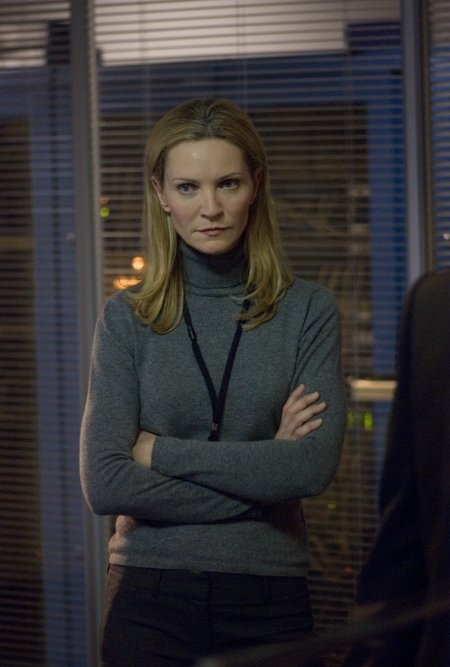 "Joan Allen  (1956- ) as Pam Landy in""The Bourne Ultimatum"", Joan Allen "" I'm getting on a plane to Berlin in 45 minutes which means you're gonna call me back in 30. And when I ask you where we stand, I had better be impressed."" Pam Landy (Bourne Supremacy)"