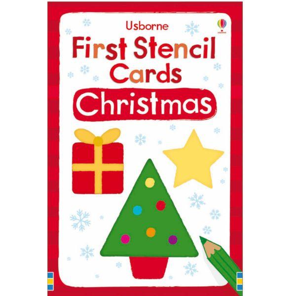 Ένα κουτί με 12 εορταστικά στένσιλ ειδικά σχεδιασμένα για μικρά παιδιά. Τα απλά σχήματα περιλαμβάνουν έναν χιονάνθρωπο, ένα χριστουγεννιάτικο δέντρο, μια νιφάδα χιονιού και ένα μπιχλιμπίδι. Ιδανικά για την κατασκευή σπιτικών χριστουγεννιάτικων καρτών ή ετικετών για δώρα. Κάθε κάρτα εί ...