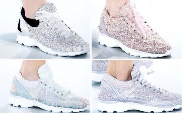 Chanel Tennis Shoes 2014...No Joke!