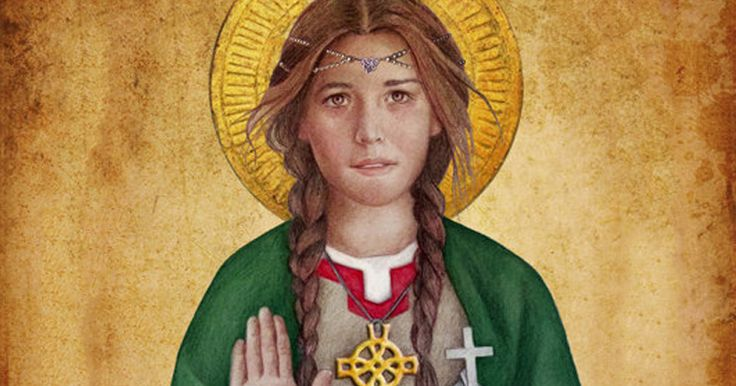 """For help recovering and moving on from heartbreak, look to Saint Dwynwen, who is known and invoked as """"The Welsh Saint Valentine"""""""