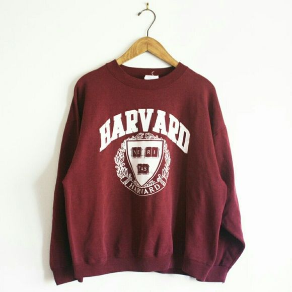 Tee Jays Sweaters - VTG Harvard sweatshirt