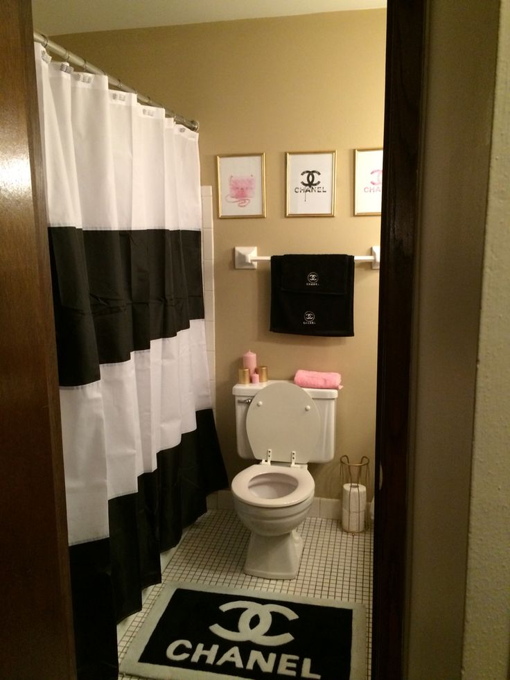 Dorm Bathroom Decorating Ideas chanel bathroom | steam showers | pinterest | apartments, dorm and