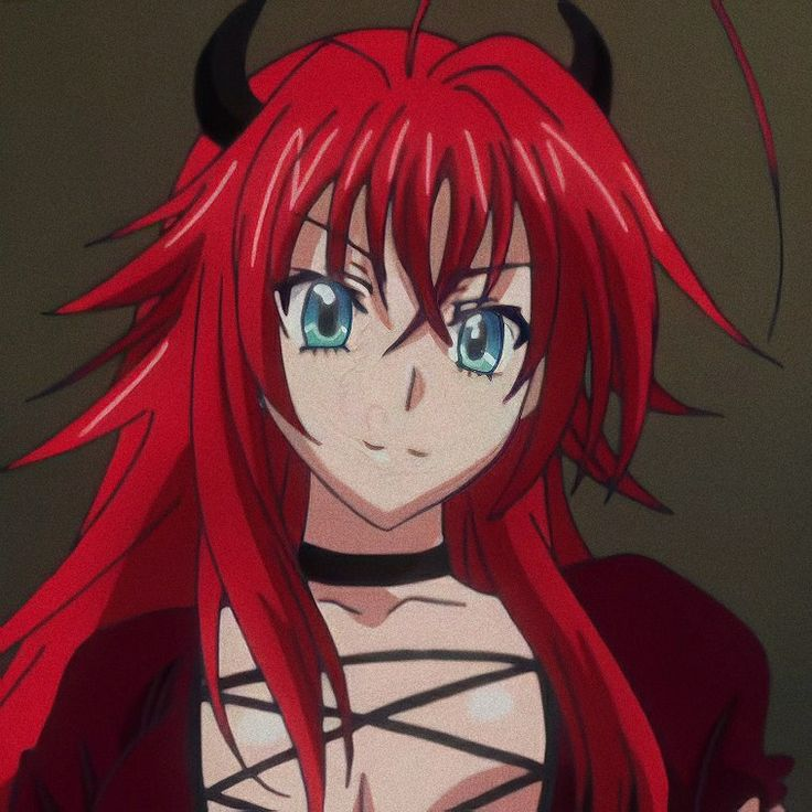 rias gremory 𖤐 𝖇𝖞 𝖓𝖎𝖝 in 2020 | Highschool dxd, Dxd, High ...