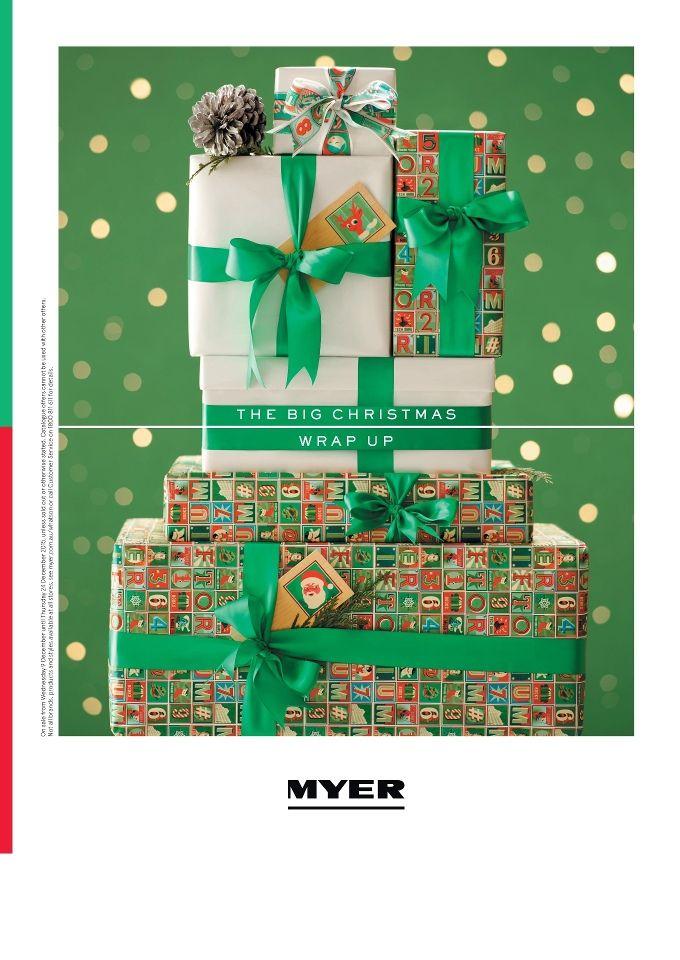 Myer Christmas Gifts Wrap Up 2015 Christmas Tree Art Xmas Gift Wrapping