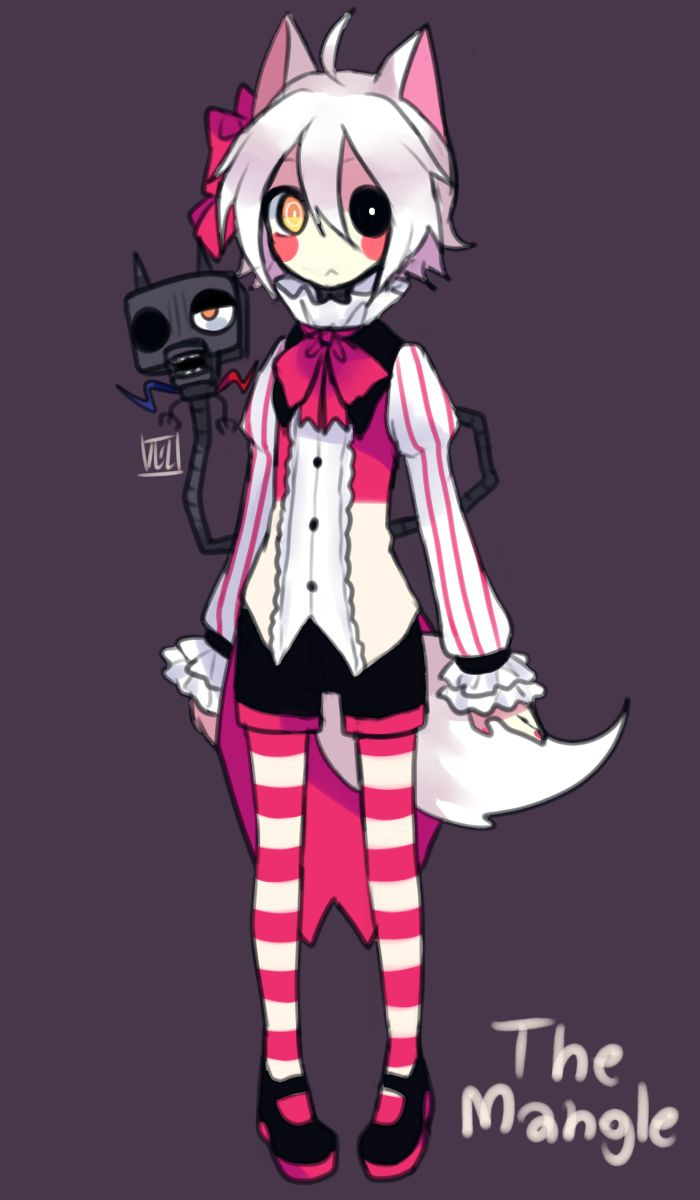 Toy chica x fem mangle preview undertale plans by red - Mangle Five Nights At Freddy S Mobile Wallpaper Zerochan Anime Image Board