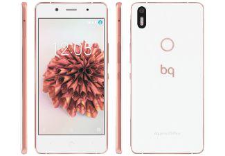 BQ Aquaris X5 Plus 32 GB Weiß/Rosegold Dual SIM
