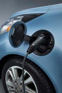 2014 Chevrolet Spark EV - charging