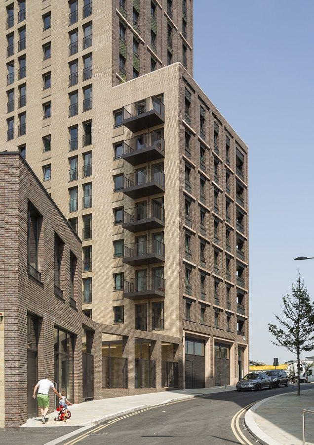 Saxon Court, King's Cross by Maccreanor Lavington Architects