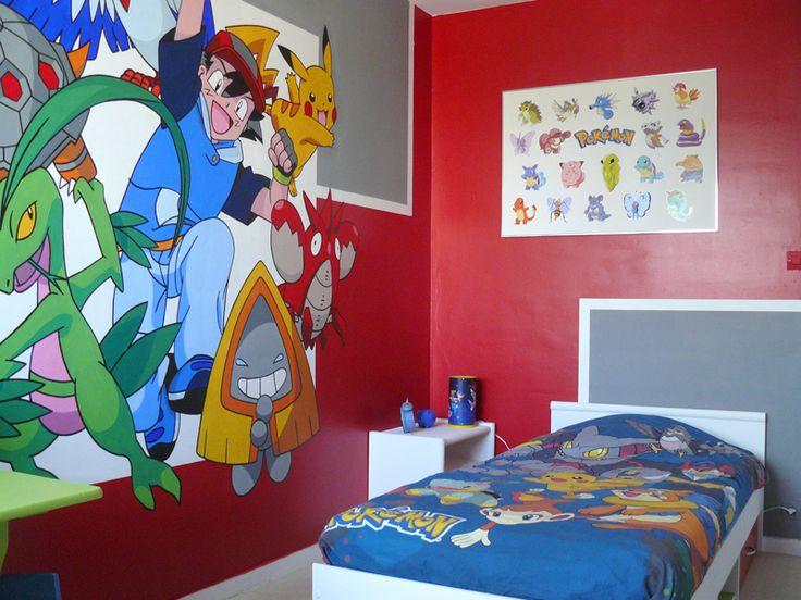 déco chambre pokemon
