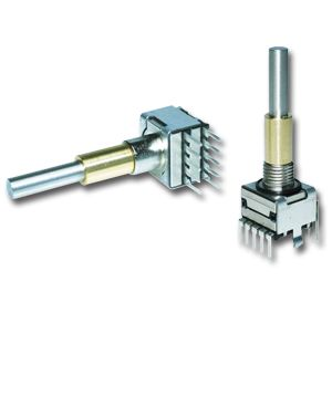 The Type E37 encoder is the highest quality, dual concentric encoder available today.  It boasts a unique combination of ruggedness and wide range of options while providing an excellent indexing feel. Standard resolution 16 or 32 detent. Optional integrated push button. Rotational life: Up to 1'000'000 revolutions. Excellent indexing feel with 0.5, 1.0, 1.5, 2.0, 2.5, 3.0, 3.5 or 4.5 Ncm switching torque remains consistent over life Gold plated contacts