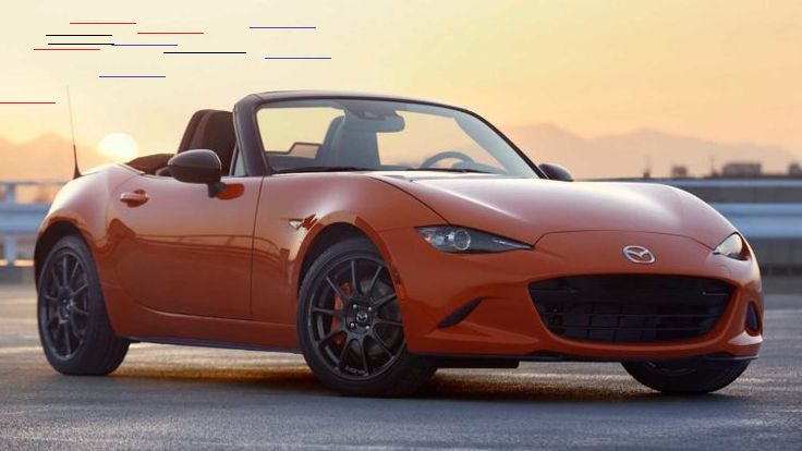 10 Sports Car Models That Need To Update Their Appearance Mazda