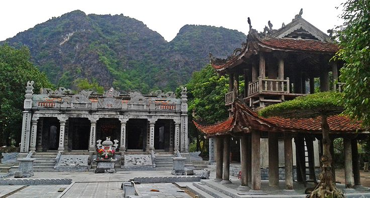 Ninh Binh - Tam Coc - Palác Thai Vi. #vietnam #cestovani #ninhbinh #palác #tamcoc