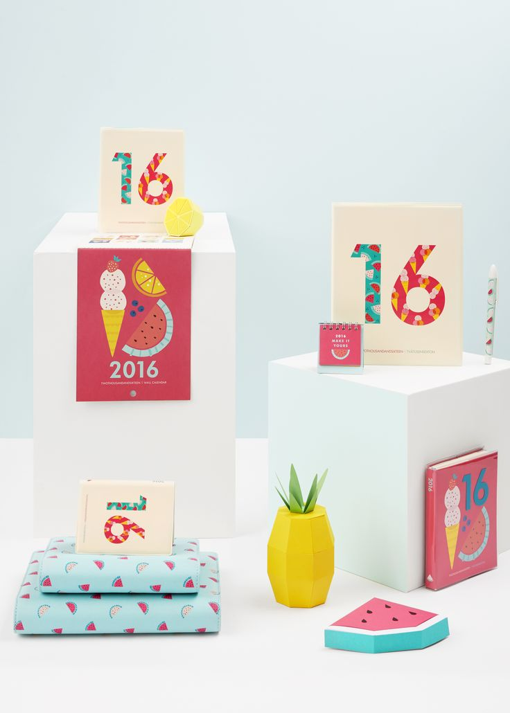 Make 2016 organised and stylish with these gorgeous kikki.K Diaries and cute stationery