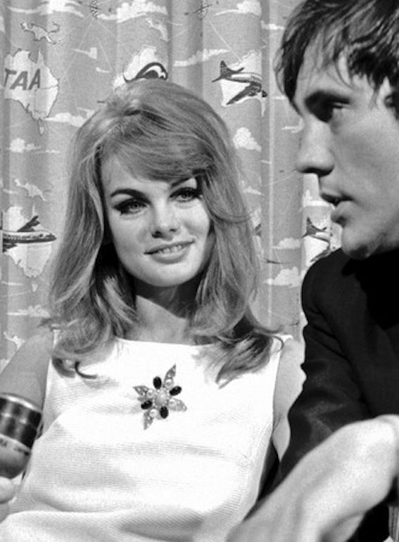 Jean Shrimpton And Terence Stamp Same Dress As Melbourne
