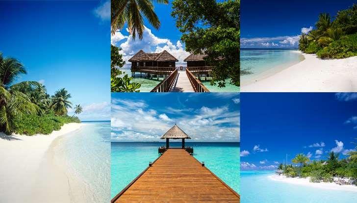 MaldivesAvec son climat sec et ses températures câlines tout au long de l'année, les Maldives sont le paradis rêvé pour se ressourcer en douceur. Une île de sable blanc et de petits jardins tropicaux encerclé d'un lagon turquoise infini. Il n'est donc pas étonnant que les géants de l'hôtellerie haut de gamme y aient ouvert quelques-uns de leurs meilleurs établissements, divisés en bungalows ultra luxe sur pilotis et en villas avec plage privée. La quintessence du paradis océanien.