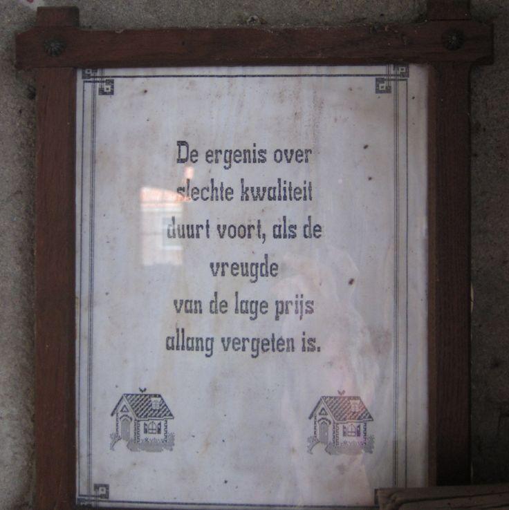 Gezien bij de Smid in het openluchtmuseum in Bargercompascum. Dr. Holland
