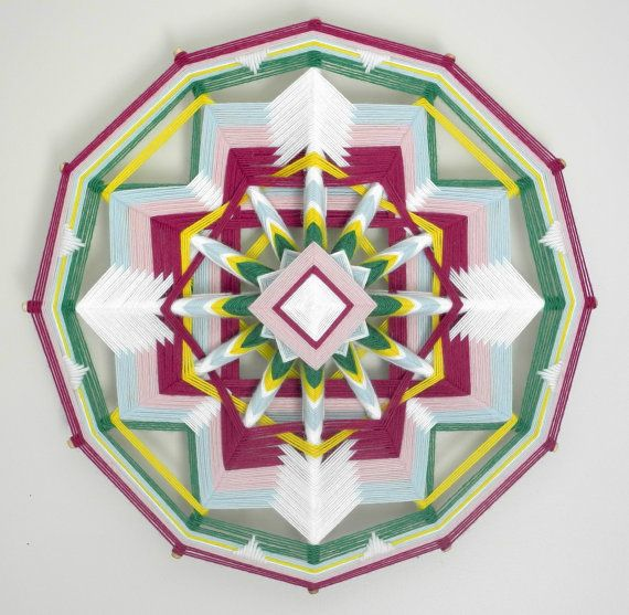Secret Garden 12-sided 18  inches in stock and by JaysMandalas