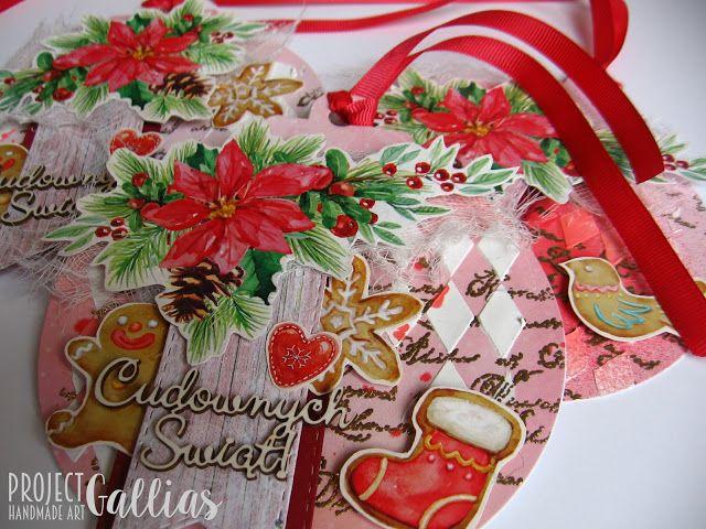 ProjectGallias dla Agateria Craft - Kartka - bombka - ProjectGallias, inspiracja, kartka, bombki, Boże Narodzenie, embossing, pasta modelujaca, arkusze do wycinania,