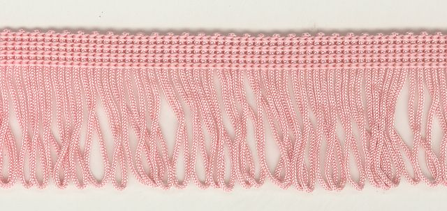 70mm Loop Fringe Pink price per mt - Click Image to Close