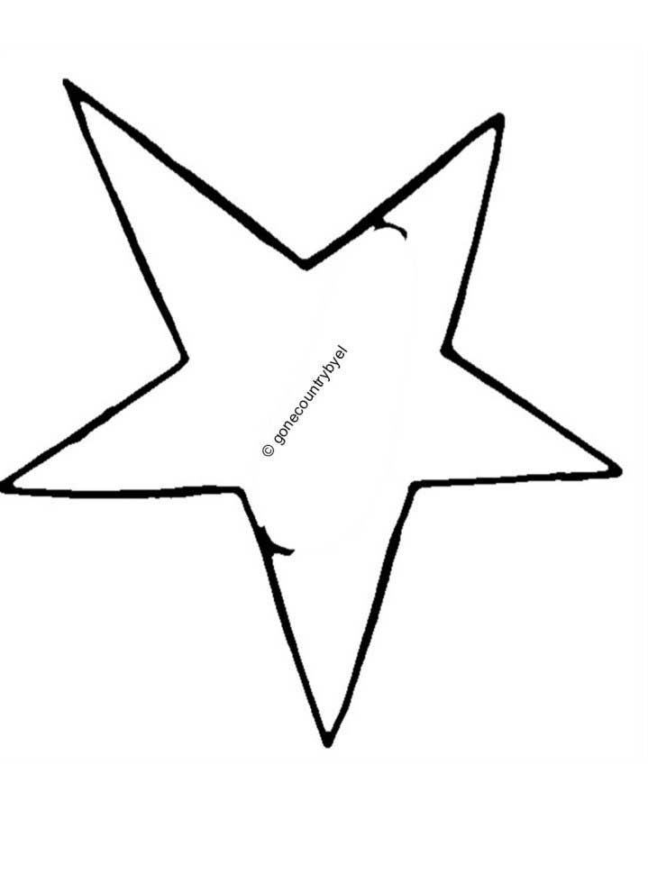 free primitive star pattern | Free Wood Crafts - Americana
