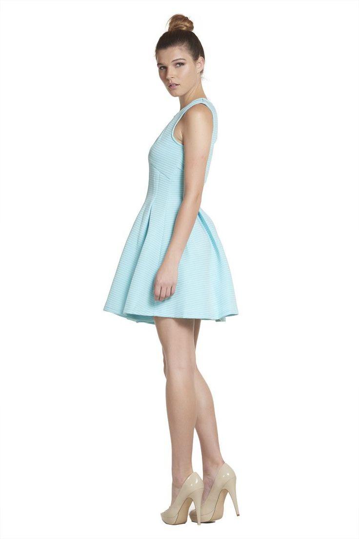'The Hamptons' Light Blue Skater Dress