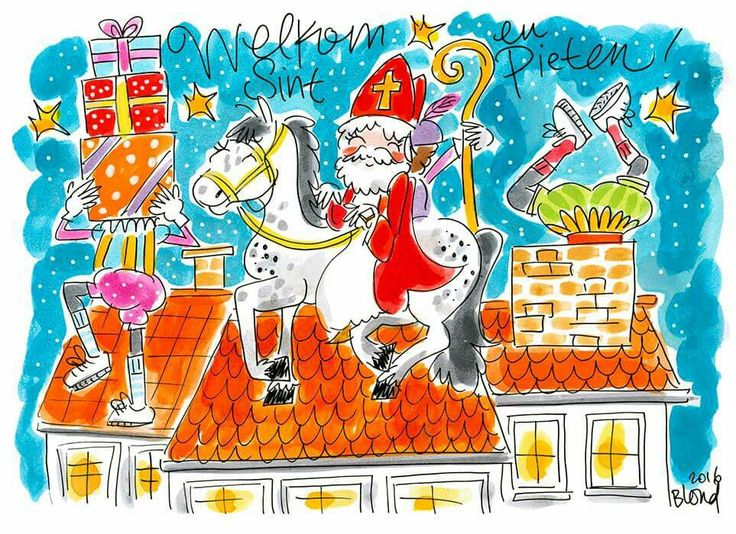 Sinterklaas - Blond Amsterdam 2016