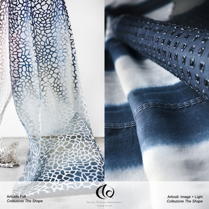 Il sole brilla nel cielo limpido, porta serenità e tranquillità nei tuoi ambienti con tutte le sfumature del blu e dell'azzurro! 💙  Nella foto articoli della Collezione #TheShape: #Full, #Image e #Light.  Visita il nostro sito www.ctasrl.com e scarica le nostre brochure su: http://bit.ly/1nhrLQM #tessuti #interiordesign #tendaggi #textile #textiles #fabric #homedecor #homedesign #hometextile #decoration