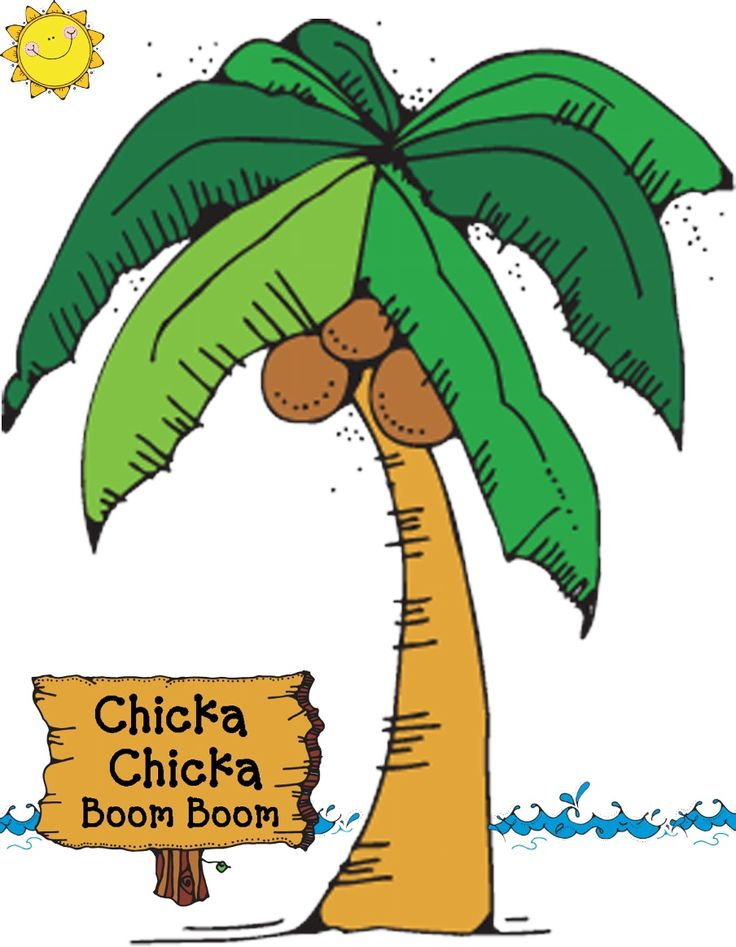 Chicka Coconut Tree: downloadable | teeny toddler ...