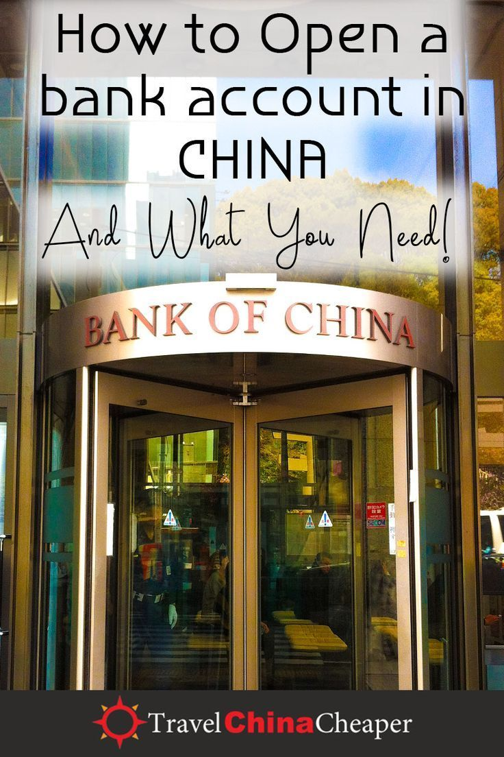 How To Open A China Bank Account As A Foreigner Non Chinese
