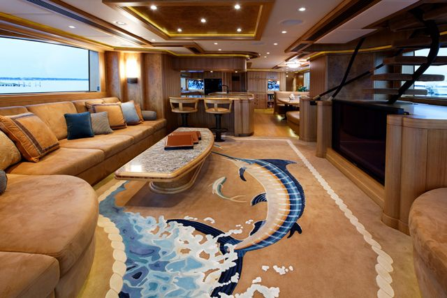 Boat interior decorating ideas ideas for caravans and for Yacht interior design decoration
