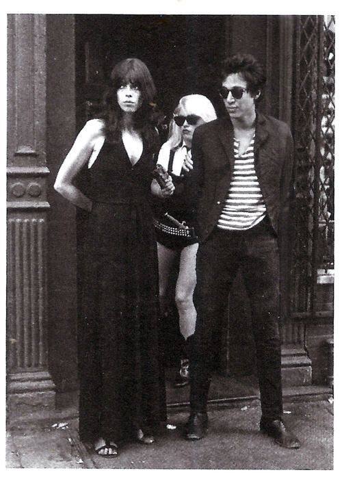 Richard Hell and Debbie Harry, panel from The Legend of Nick...