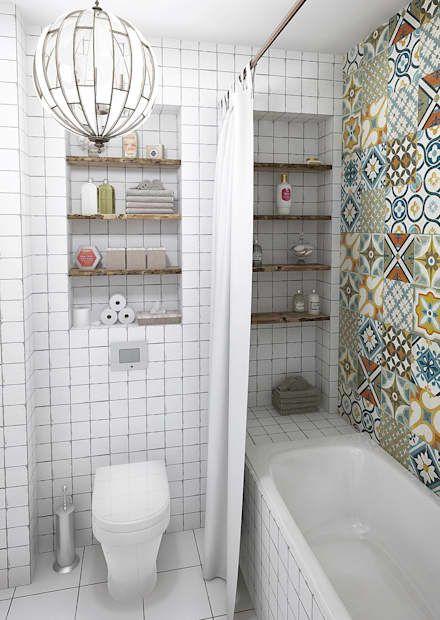 Краснодарский нейтралитет: Ванные комнаты в . Автор – Aleksey Bereznyak