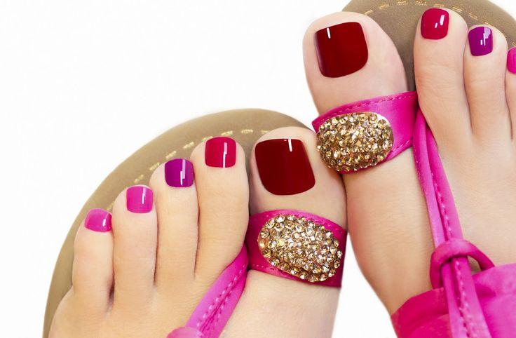 Printemps!  Beauté des pieds