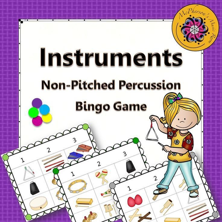 A fun and fast way to review recognizing non-pitched percussion instruments in your music classroom! Lots of winners in a short amount of time. Great for whole group or centers.