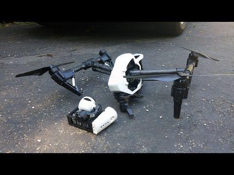 DJI Phantom Drone Crash into Waterfall | Commentary - YouTube