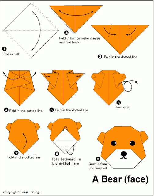 Origami Giraffe 2 Origami Human Figure Instructions