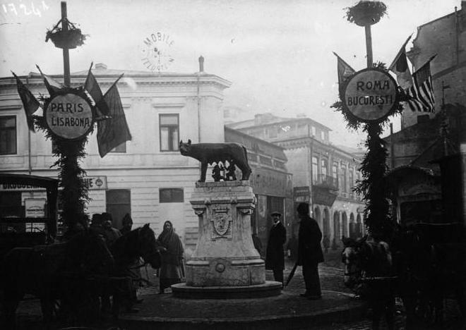 Bucureşti 1922. Piaţa Romei