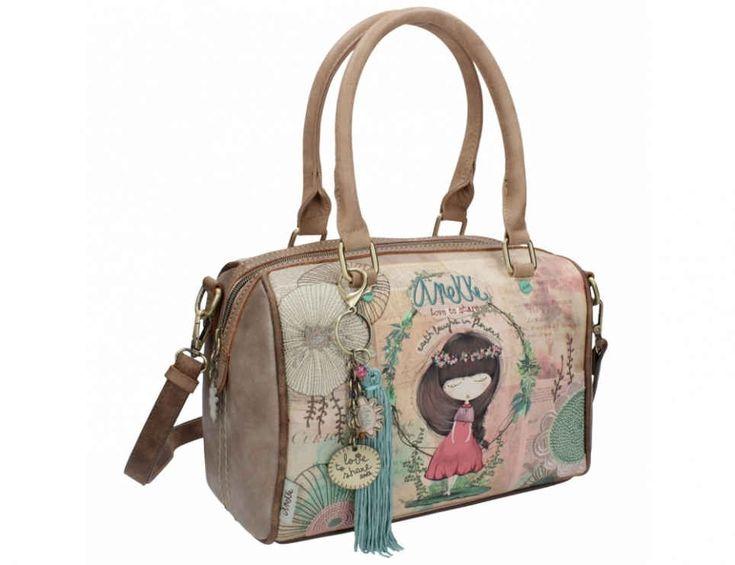 Anekke Nature Bowling Bag  27x14x19 cm