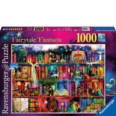 Ravensburger Rburg - Fairytale Fantasia Puzzle 1000Pc $24.00