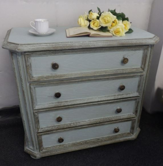 Painted chest of 4 drawers £145