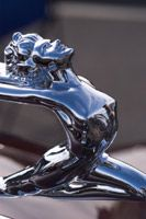 1936 Buick 96S Coupe - Hood ornaments and mascots