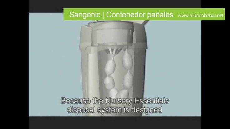 Contenedor pañales Sangenic | Mundobebes.net